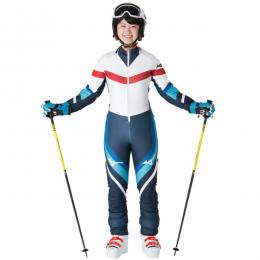 20MIZUNO Team Racing Suit(FIS) [Z2MH9001]【ネイビー】